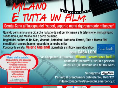 Milano è tutta un film! serata-cena